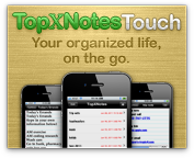 TopXNotes Touch