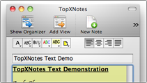 Create notes instantly
